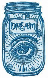 Dreams in jar