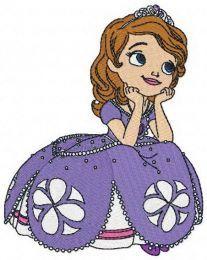 Dreamy Sofia machine embroidery design