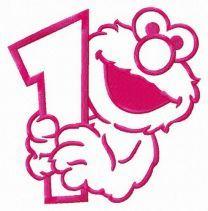 Elmo 1 embroidery design