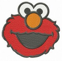 Elmo Sesame Street embroidery design