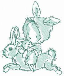 Fan of bunnies
