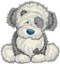 Fluffy embroidery design