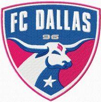 F.C. Dallas Logo machine embroidery design