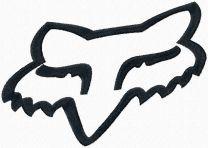 Fox Racing Logo machine embroidery design