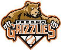 Fresno Grizzlies Logo machine embroidery design