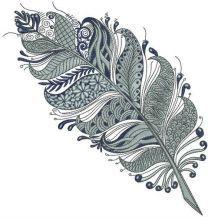 Gorgeous feather
