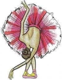 Graceful ballet dance