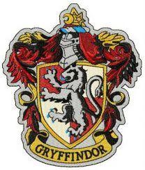 Gryffindor emblem machine embroidery design
