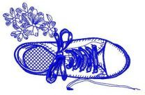 Gumshoes machine embroidery design 3