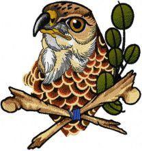 Heavenly predator embroidery design
