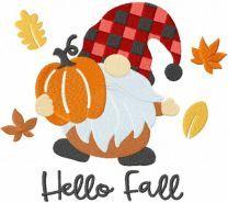 Hello fall gnome