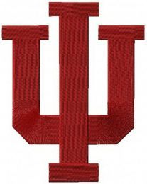 Indiana University Bloomington machine embroidery design