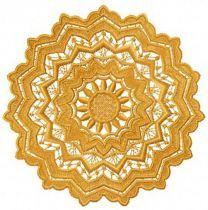Lace doily machine embroidery design