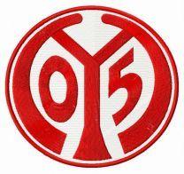 Mainz 05 logo embroidery design