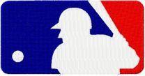 Major League Baseball Alternate Logo machine embroidery design