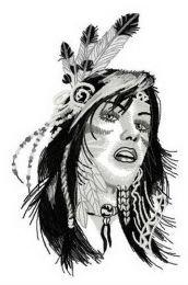 Native American teen