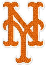 New York Mets Logo machine embroidery design