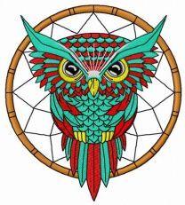 Owl dreamcatcher 2