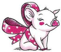 Piggy present