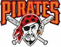Pittsburgh Pirates Logo machine embroidery design