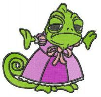 Princess Pascal embroidery design