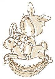 Riding rabbit