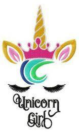 Royal unicorn girl