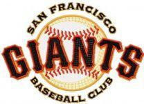 San Francisco Giants Logo embroidery design