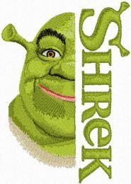 Shrek with Logo