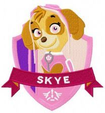 Skye machine embroidery design 2