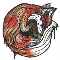 Sleeping fox 5