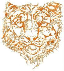 Snow leopard one color