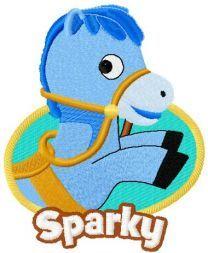 Sparky badge