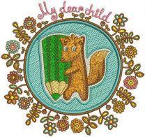 Squirrel the painter