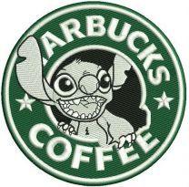 Starbucks coffee Stitch