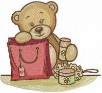 Teddy bear's shopping