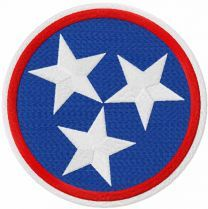 Tennessee Tristar embroidery design