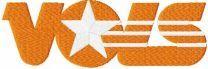 Tennessee Volunteers wordmark logo embroidery design