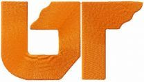 The University of Tennessee UT Vols embroidery design