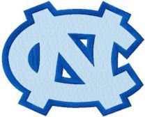 University of North Carolina at Chapel Hill machine embroidery design