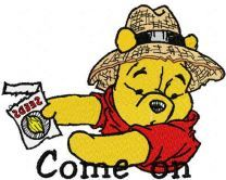 Winnie Pooh Come on