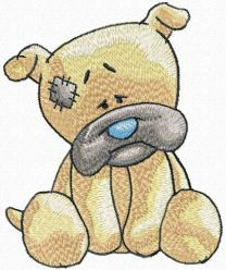 Wrinkles embroidery design