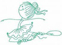 Young ballerina 14