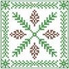 Decoration cross stitch