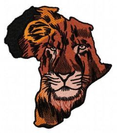 Africa 3 embroidery design