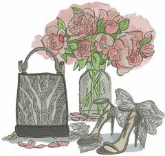 All the best for you embroidery design