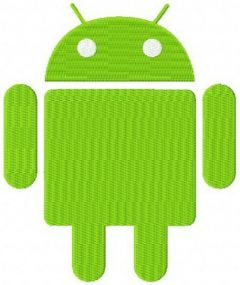 Android machine embroidery design