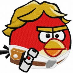 Angry Birds Star Wars Luke 2 embroidery design