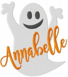 Annabelle free embroidery design 2