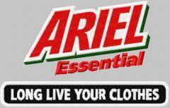 Ariel Essential logo embroidery design